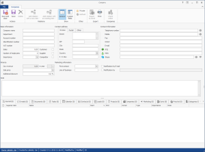Companies in CRM for Microsoft Outlook