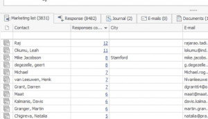 Marketing feedback in CRM for Microsoft Outlook