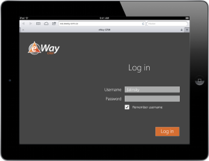 eWay-CRM Web Access LogIn